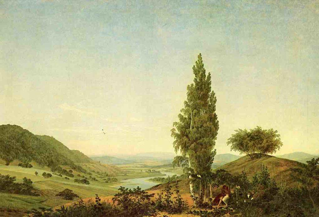 """Das Gemälde """"Der Sommer"""" von Caspar David Friedrich"""