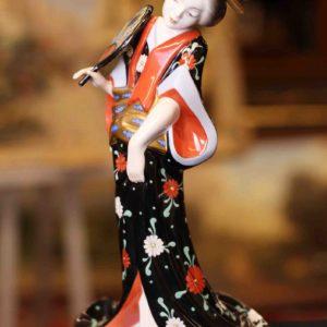 Geisha der Porzellanmanufaktur Herend