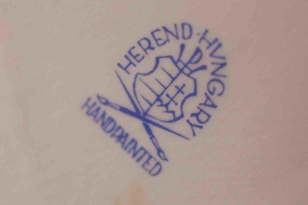 Porzellanmarke der ungarischen Manufaktur Herend