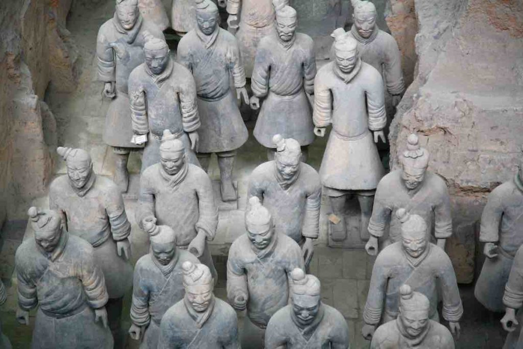 Krieger der Terrakotta-Armee