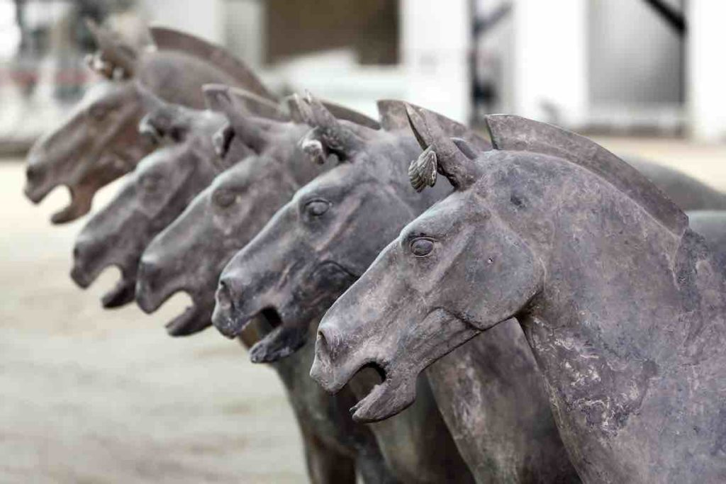 Pferde der Terrakotta-Armee