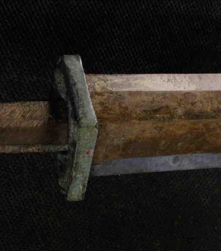 Bronzeschwert eines Kriegers der Terrakotta-Armee