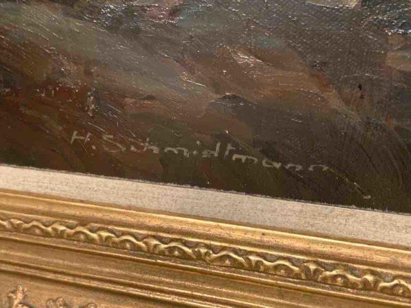 Signatur Gemälde H. Schmidtmann