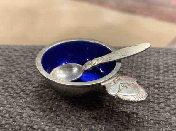 Silber-Saliere von Georg Jensen