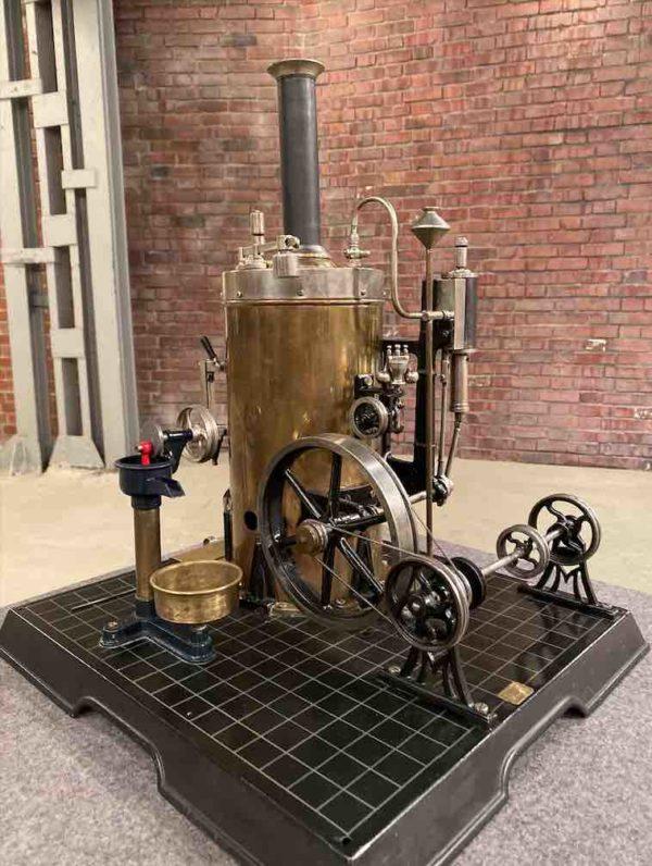 Dampfmaschine vom Spielzeughersteller Märklin von nahen