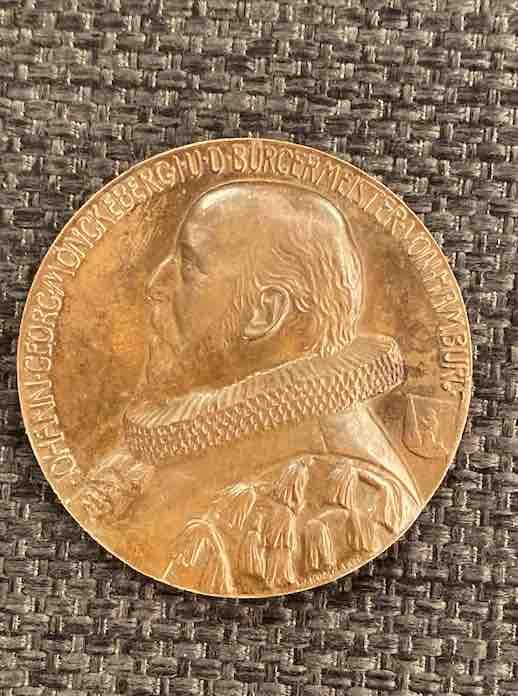 Rückseite der Medaille der Bulgaria
