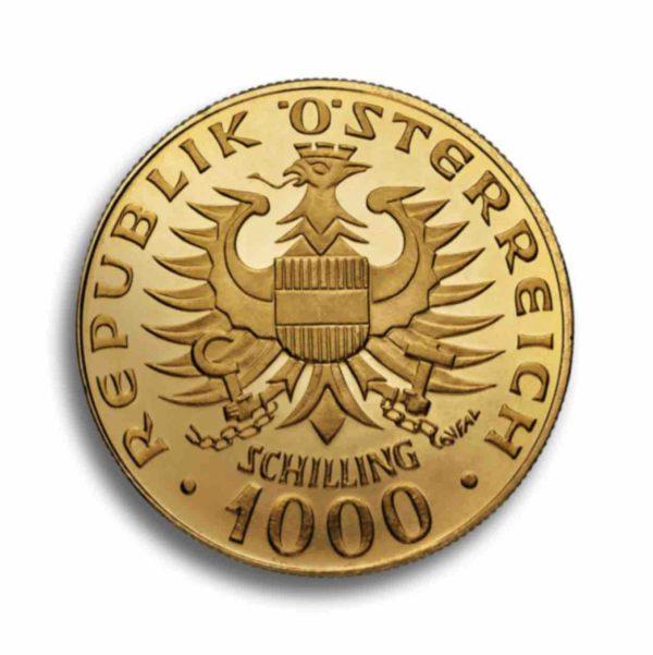 1000 Schilling Oesterreich Vorderseite
