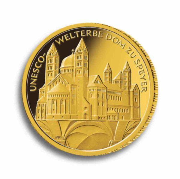 100 Euro Gold Rueckseite
