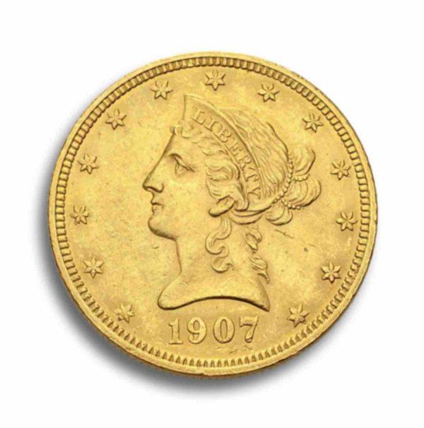 10 Dollar Liberty Head Rueckseite