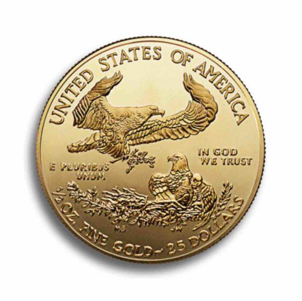 1/2 Unze American Eagle Vorderseite