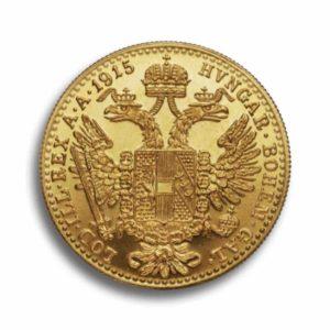 1 Dukaten Gold Oesterreich Vorderseite