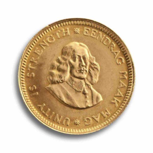 1 Rand Suedafrika Rueckseite