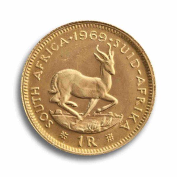 1 Rand Suedafrika Vorderseite