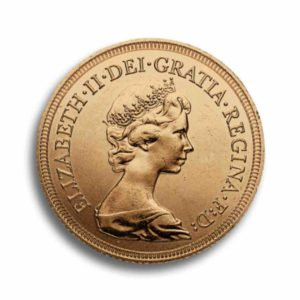 1 Sovereign Gold GB Vorderseite
