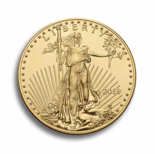 1 Unze American Eagle Rueckseite