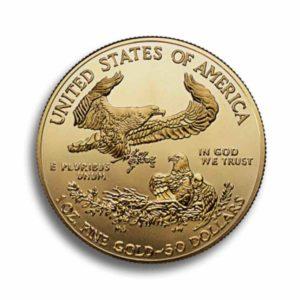 1 Unze American Eagle Vorderseite