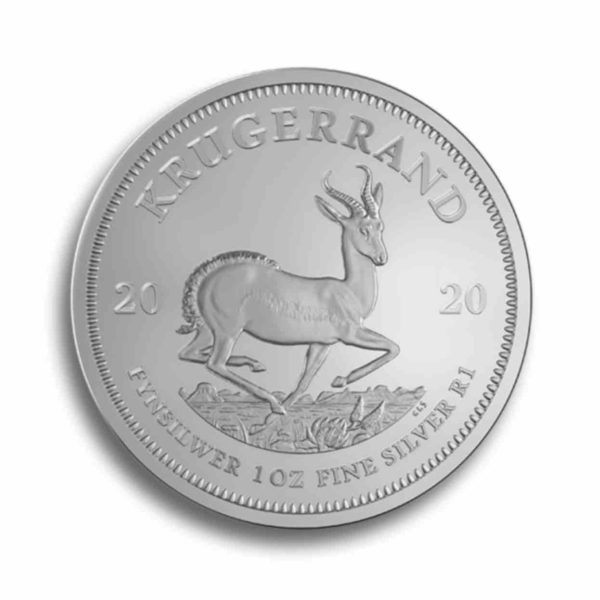 1 Unze Kruegerrand Silber Vorderseite