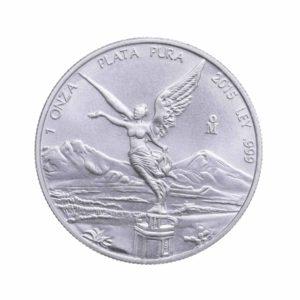 1 Unze Silber Libertad Mexiko Vorderseite