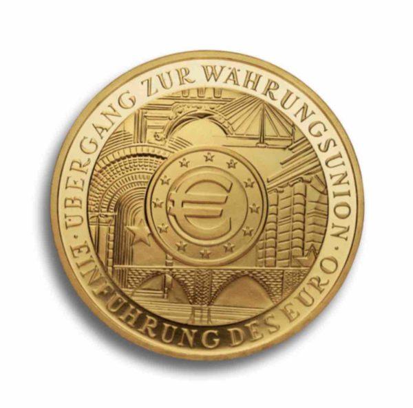 200 Euro Gold Rueckseite