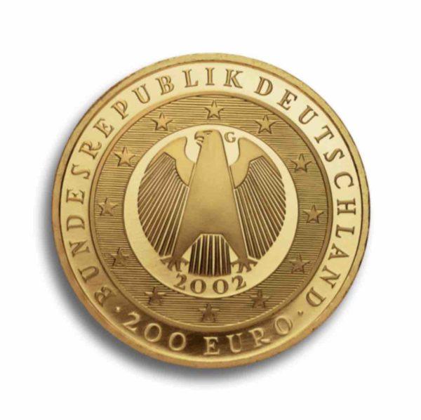200 Euro Gold Vorderseite