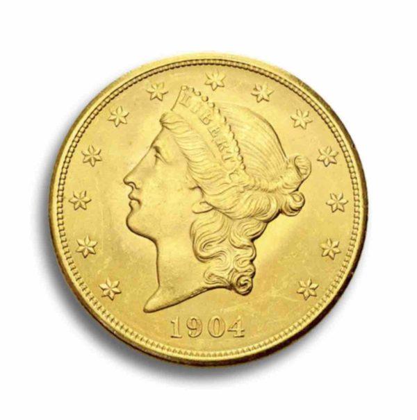 20 Dollar Liberty Head Rueckseite