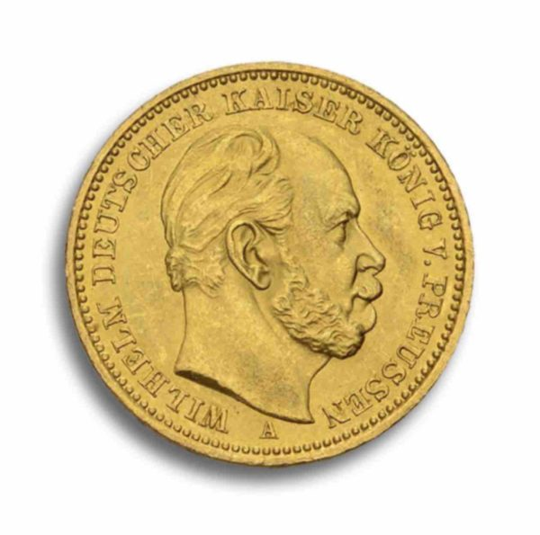 20 Mark Kaiserreich Gold Rueckseite