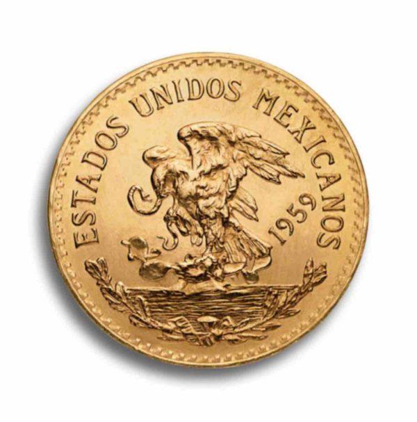 20 Pesos Mexiko Gold Rueckseite