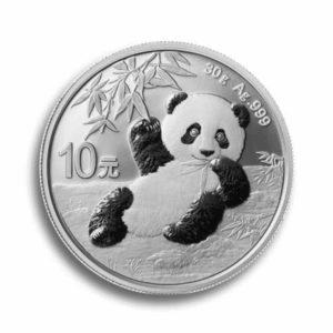 30 Gramm Silber China Panda Vorderseite