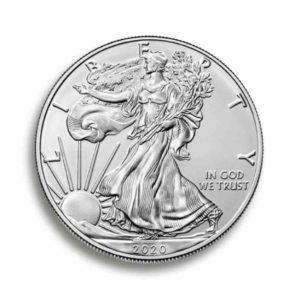 American Eagle 1 Unze Silber Rueckseite