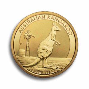 Australian Kangaroo 1/10 Unze Rueckseite