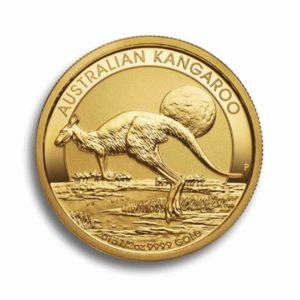 Australian Kangaroo 1/2 Unze Rueckseite