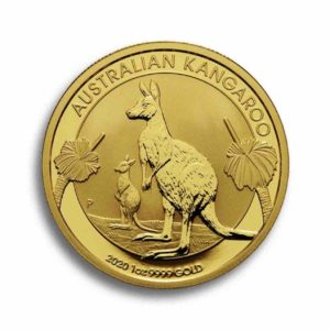 Australian Kangaroo 1 Unze Rueckseite