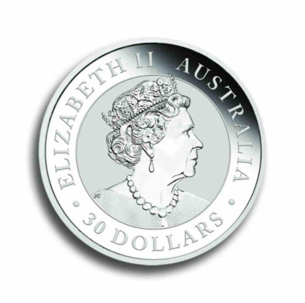 Australien Koala 1 kg Silber Vorderseite