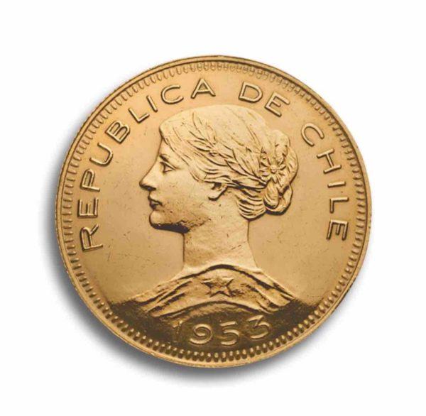 Chile 100 Pesos Rueckseite