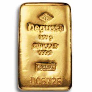 Goldbarren 250 Gramm
