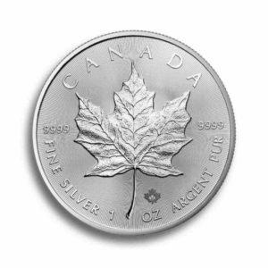 Kanada 1 Unze Maple Leaf Rueckseite