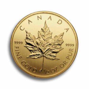 Kanada Maple Leaf 1/2 Unze Rueckseite