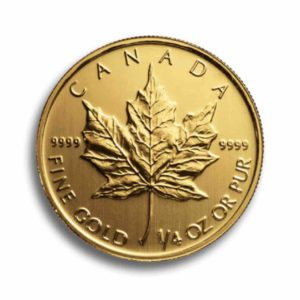 Kanada Maple Leaf 1/4 Unze Rueckseite