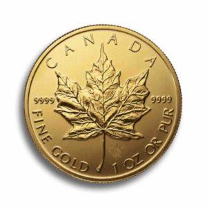 Kanada Maple Leaf 1 Unze Rueckseite