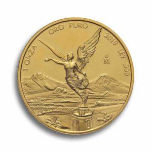 Libertad 1 Unze Mexiko Gold Vorderseite