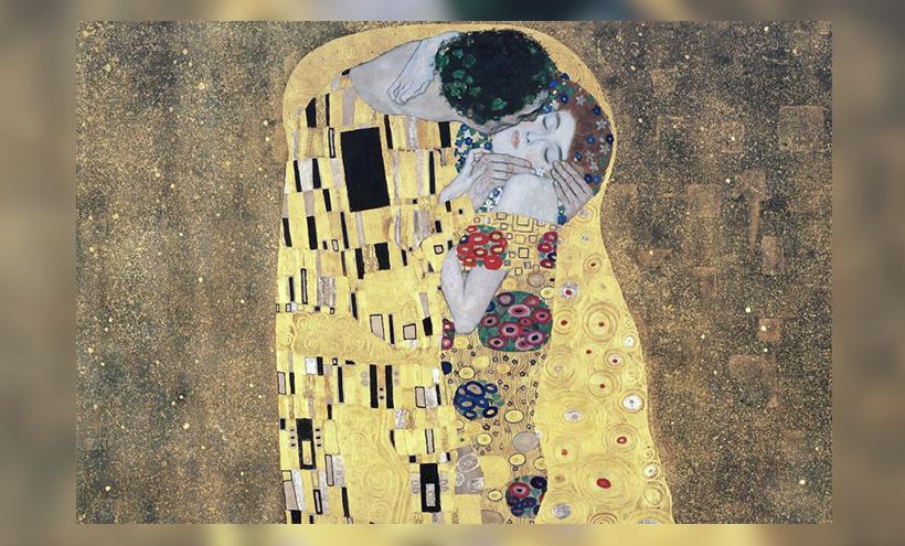 """""""Der Kuss"""" von Gustav Klimt"""