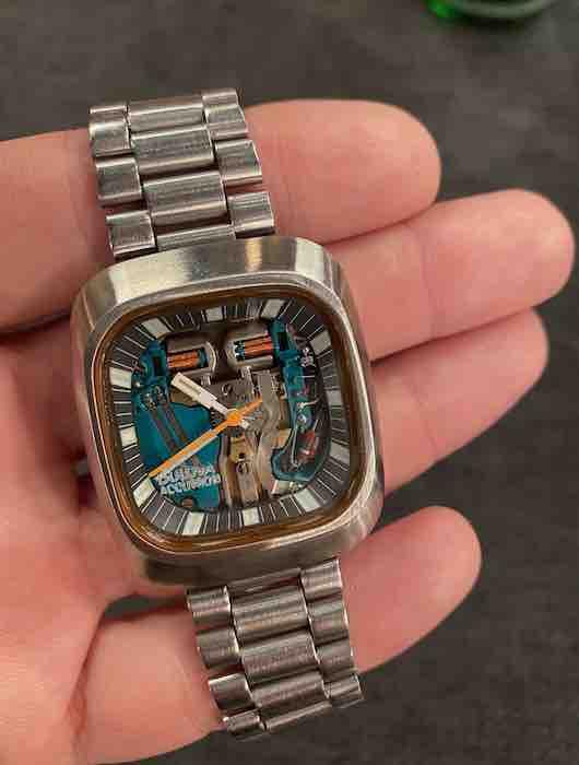 Zifferblatt der Bulova Armbanduhr