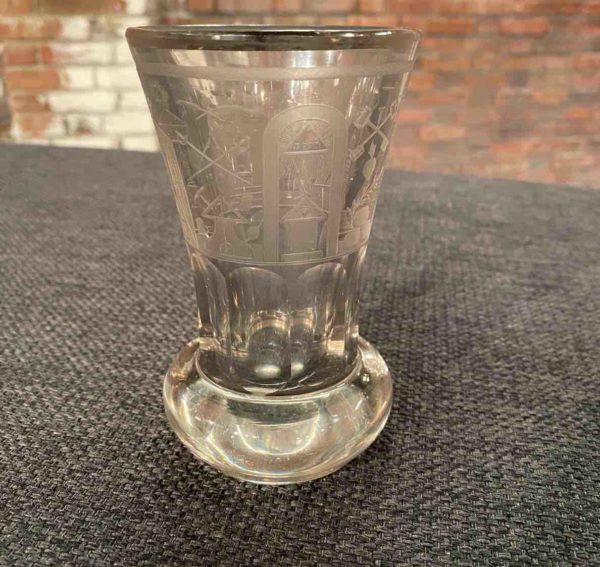 Freimaurer Trinkglas
