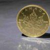Kanadischer Maple Leaf in Gold