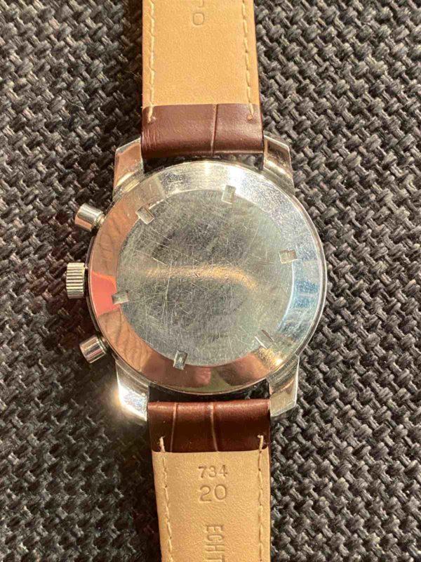 Rückseite der Armbanduhr