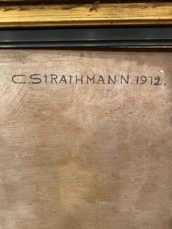 Signatur von Carl Strathmann