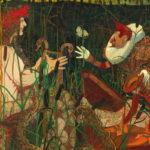 Gemälde mit zwei Personen von Strathmann