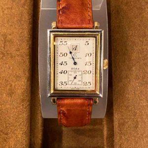 Armbanduhr von oben
