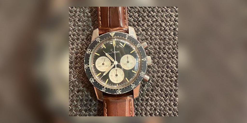 Sinn 103 Armbanduhr von oben