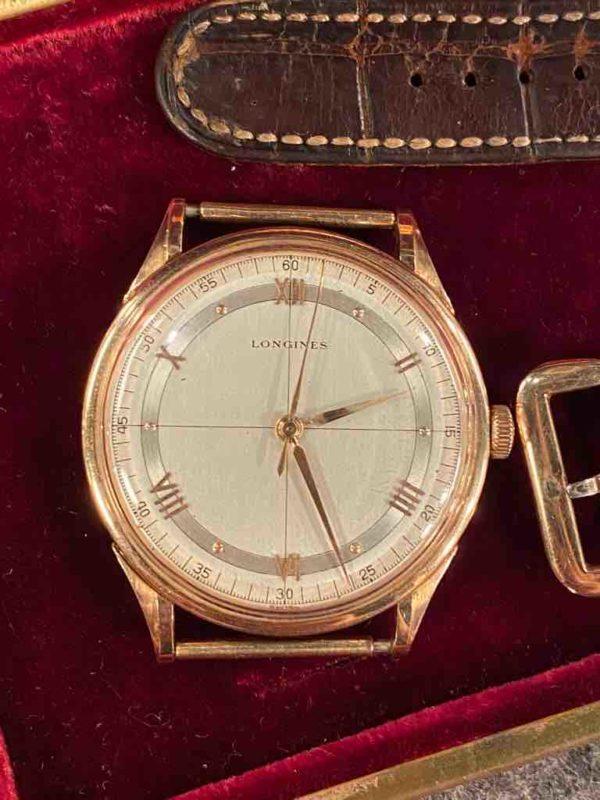 Zifferblatt der Longines Uhr